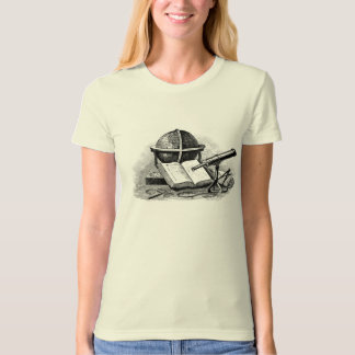 still life with globe and telescope T-Shirt