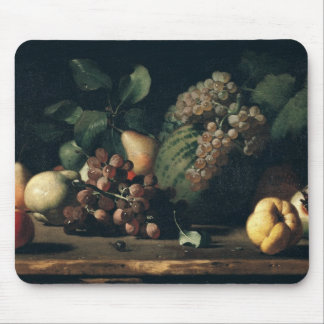 Still Life with Grapes and Pomegranate Mouse Pad