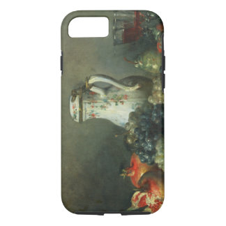 Still Life with Grapes and Pomegranates, 1763 (oil iPhone 7 Case