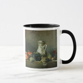 Still Life with Grapes and Pomegranates, 1763 (oil Mug