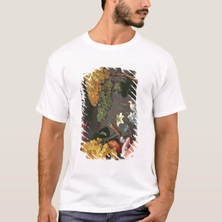 Still Life with Grapes, Birds and flowers T-Shirt