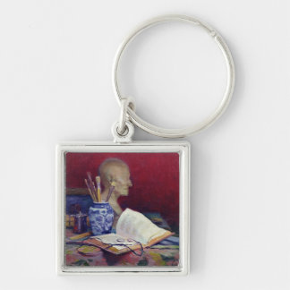 Still Life with Head of Voltaire Keychain