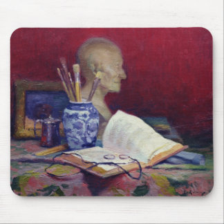 Still Life with Head of Voltaire Mouse Pad