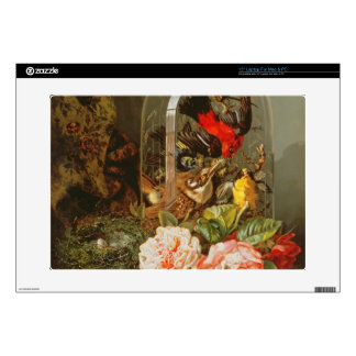 """Still Life with Humming Bird in a Glass Dome Decal For 15"""" Laptop"""
