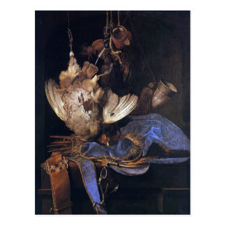 Still Life with Hunting Equipment Postcard