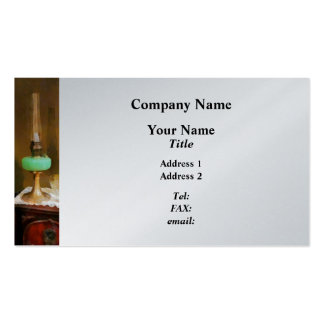 Still Life With Hurricane Lamp Double-Sided Standard Business Cards (Pack Of 100)