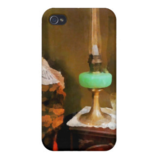 Still Life With Hurricane Lamp Covers For iPhone 4