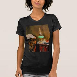 Still Life With Hurricane Lamp Tee Shirt