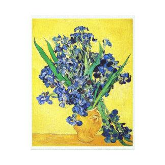 Still Life with Irises Vincent van Gogh Canvas Print