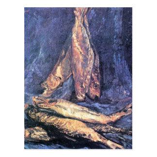 Still Life with kipper by Vincent Willem van Gogh Postcard