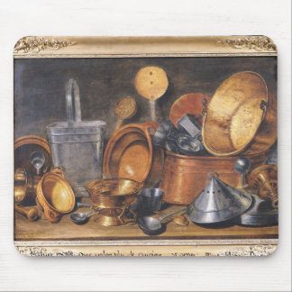 Still Life with Kitchen Utensils Mouse Pad