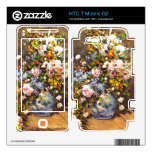 Still life with large vase by Pierre Renoir Decal For HTC T-Mobile G2