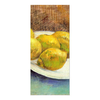 Still Life with Lemons on a Plate Custom Announcements