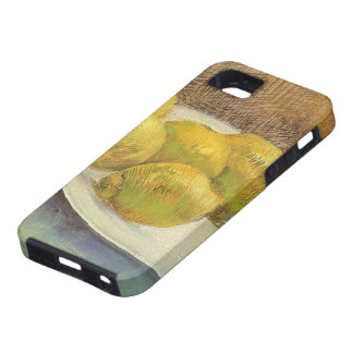 Still Life with Lemons on Plate; Vincent van Gogh iPhone 5 Cases