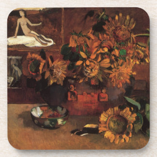 Still Life with L'Esperance (Hope) by Paul Gauguin Drink Coaster