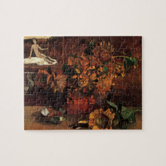 Still Life with L'Esperance (Hope) by Paul Gauguin Jigsaw Puzzle