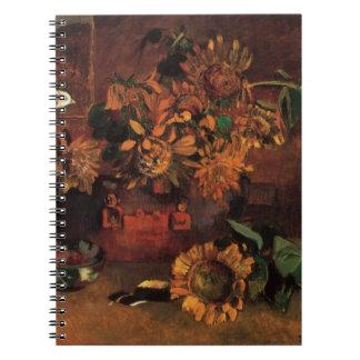 Still Life with L'Esperance (Hope) by Paul Gauguin Notebook