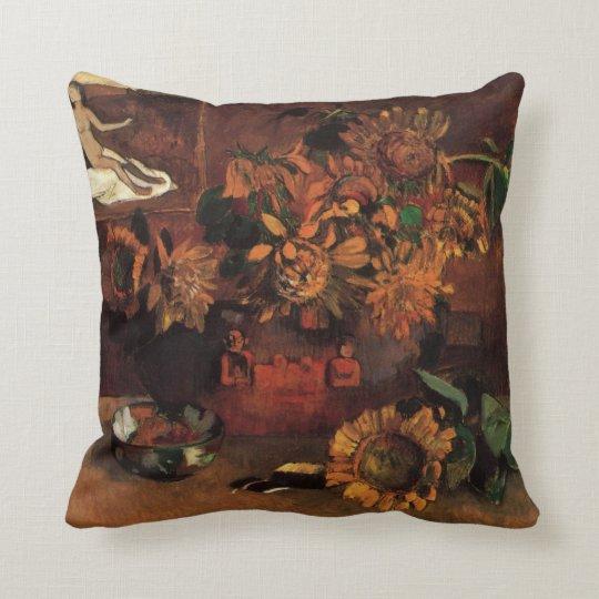 Still Life with L'Esperance (Hope) by Paul Gauguin Throw Pillow