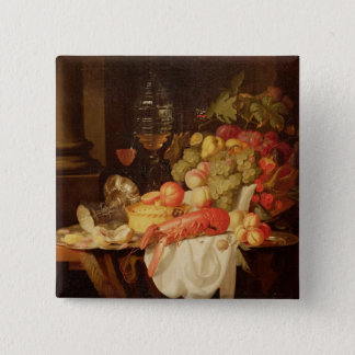 Still Life with Lobster Button