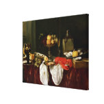 Still Life with lobster Canvas Print
