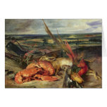 Still Life with Lobsters, 1826-27 Card
