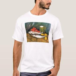 Still Life with Mackerels, Lemons and Tomatoes T-Shirt
