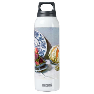 Still Life with Melon, 1872 Claude Monet 16 Oz Insulated SIGG Thermos Water Bottle