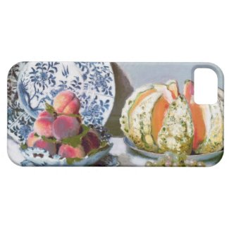 Still Life with Melon, 1872 Claude Monet iPhone 5 Cover