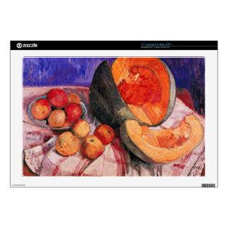"""Still life with melon by Paula Modersohn-Becker 17"""" Laptop Decal"""