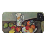 Still life with milk jug and fruit, c.1886-90 (oil Case-Mate iPhone 4 case