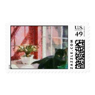 Still Life with Morgan Stamp
