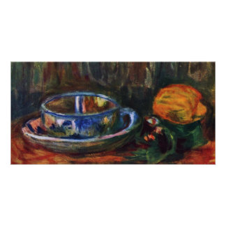 Still Life With Mug By Pierre-Auguste Renoir Personalized Photo Card