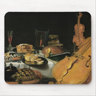 Still Life with Musical Instruments, 1623 Mouse Pad