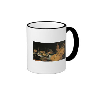 Still Life with Musical Instruments, 1623 Ringer Coffee Mug