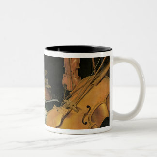 Still Life with Musical Instruments, 1623 Two-Tone Coffee Mug