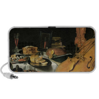 Still Life with Musical Instruments, 1623 Travel Speaker