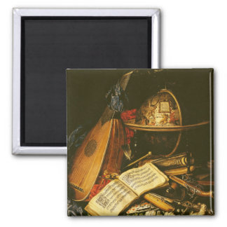 Still Life with Musical Instruments Magnet