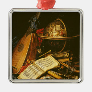 Still Life with Musical Instruments Christmas Tree Ornaments