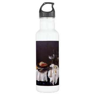 Still Life with Nautilus Cup by Willem Heda 1654 Stainless Steel Water Bottle