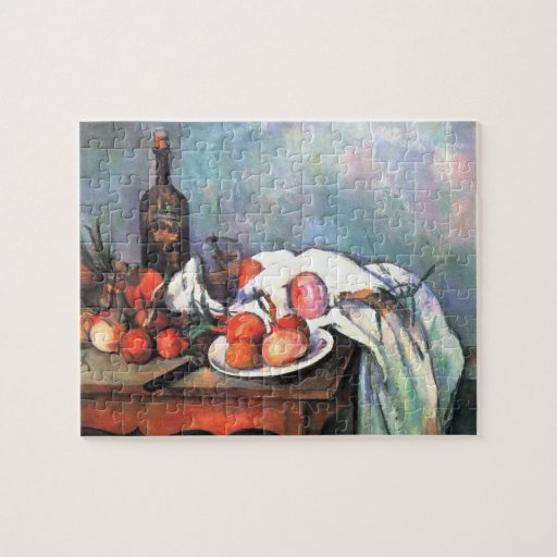 Still Life with Onions by Cezanne Puzzle