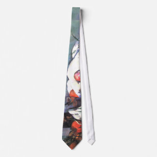 Still Life with Onions by Cezanne Tie