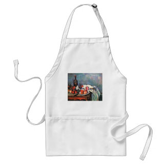 Still Life With Onions By Paul Cézanne Adult Apron