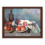 Still Life With Onions By Paul Cézanne Custom Invites
