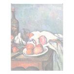 Still Life With Onions By Paul Cézanne Custom Letterhead
