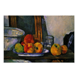 Still Life With Open Drawer By Paul Cézanne Poster