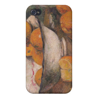 Still life with Oranges, 1881 Covers For iPhone 4
