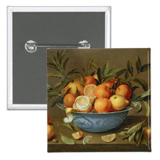 Still Life with Oranges and Lemons Button