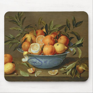 Still Life with Oranges and Lemons Mouse Pad