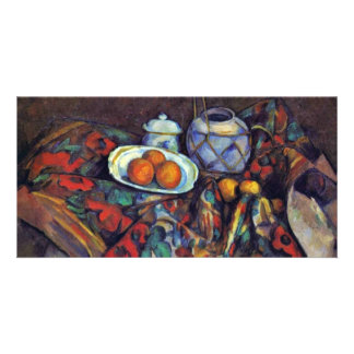 Still Life With Oranges By Paul Cézanne Personalized Photo Card