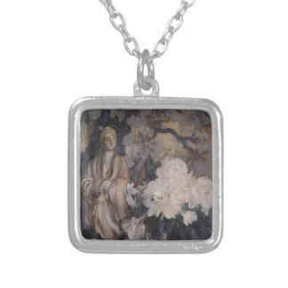 Still Life with Oriental Statue by Edmund Tarbell Pendant